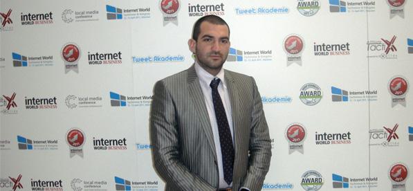 Стефан Чорбанов на Internet World Мюнхен 2011
