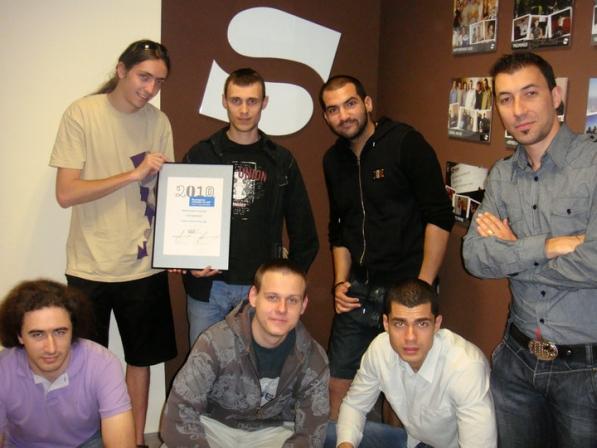 Stenik с награда от Български награди за уеб 2011