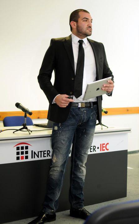 Stefan Chorbanov, Stenik at Digitex 2011, Sofia, Bulgaria