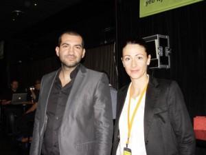Стефан Чорбанов с Биляна Лаундс на DesignDay 2011 в София