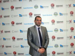Стефан Чорбанов на Internet World 2011 в Мюнхен