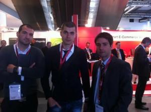 Стефан Чорбанов на e-commerce събитието Internet World 2012 в Мюнхен