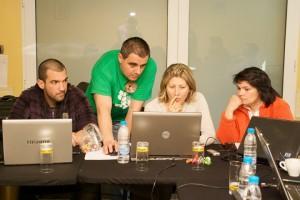 Стефан Чорбанов на курс по ползваемост в Лукрат 2010