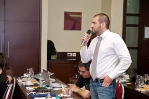 Стефан Чорбанов на конференцията за ползваемост UX Sofia 2011