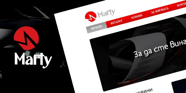 Онлайн магазин за авточасти Марти в Chorbanov.com
