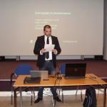 Стефан Чорбанов на презентация на 91. НЕГ