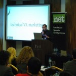 Стефан Чорбанов презентира на OnlineBiz'11