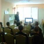 Стефан Чорбанов в Ден на отворени врати 2009