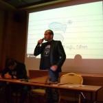 Стефан Чорбанов на Ден на отворени врати в Stenik 2011