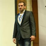 Стефан Чорбанов на презентация на Social Me WorkShop 10 в Интерпред, София, април 2013
